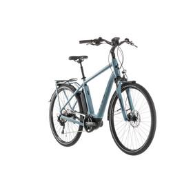 Cube Town Sport Hybrid Pro 400 Elcykel City blå/Petrol